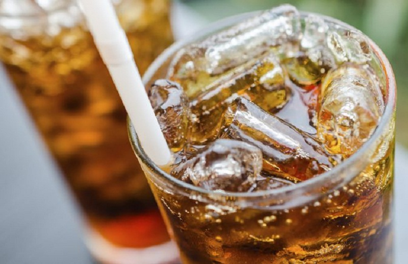 consumption of soft drinks