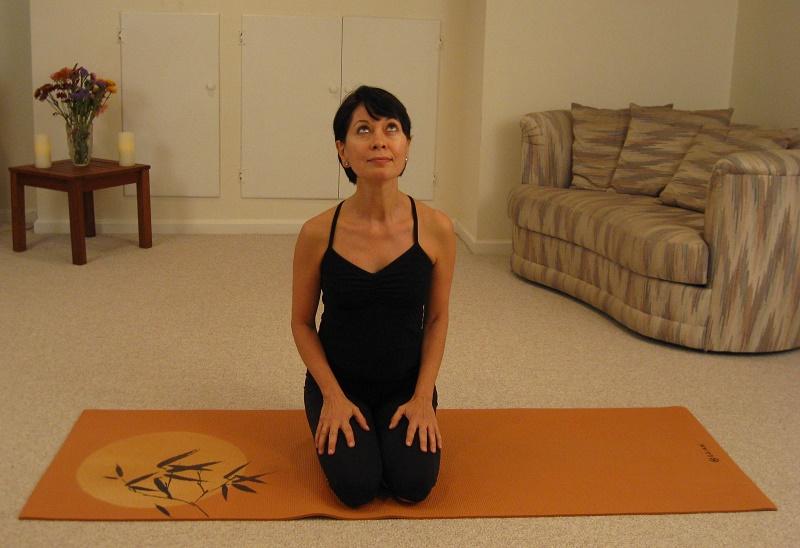 Preparation before eye yoga
