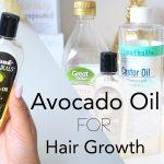 Avocado hair oil