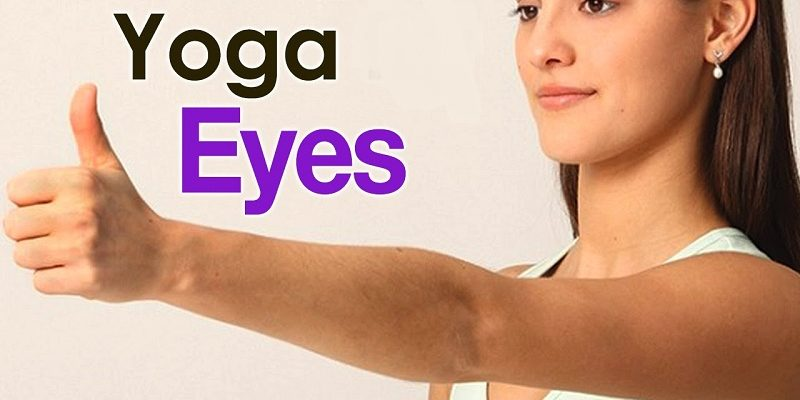 How to do eye yoga