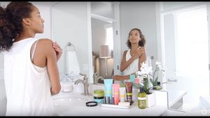 exfoliating in spa