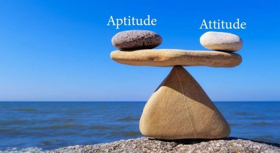attitude and aptitude