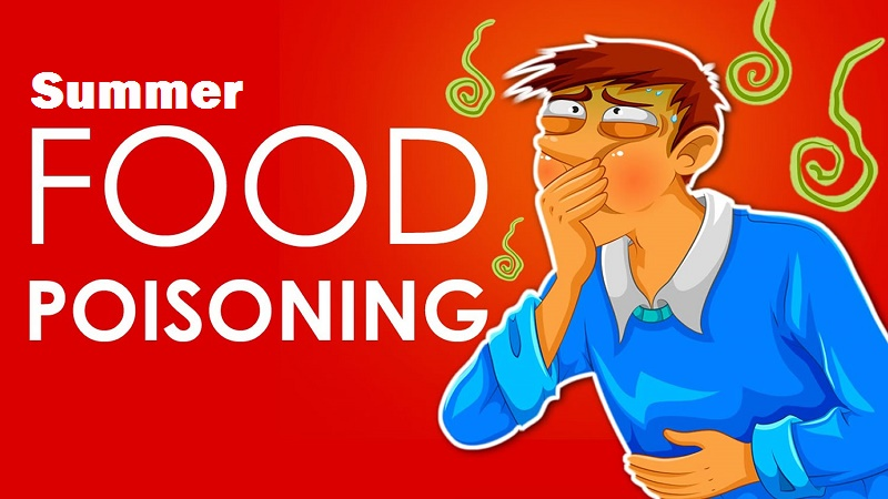 Food poisoning in summer