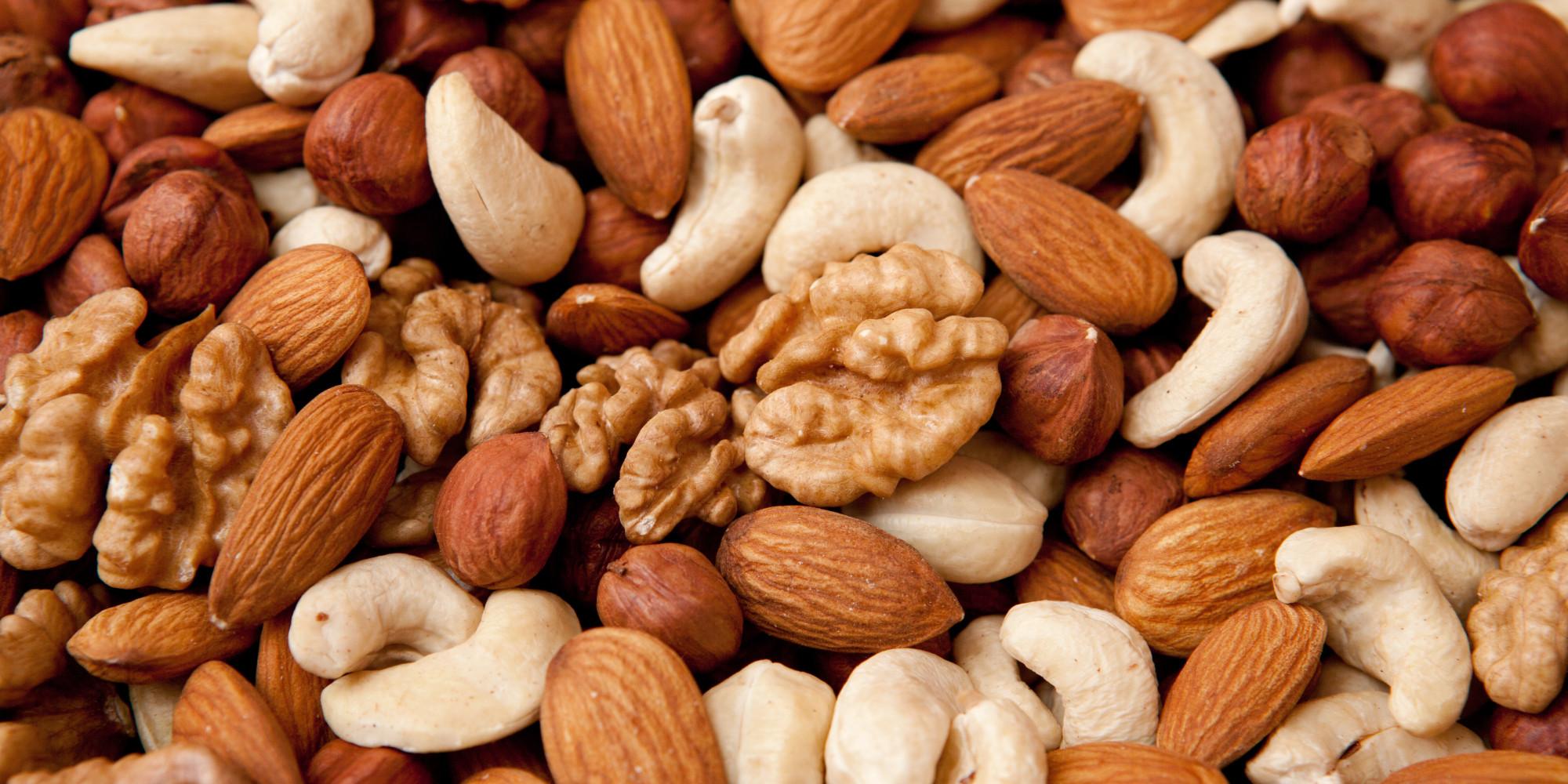 Walnuts and peanuts